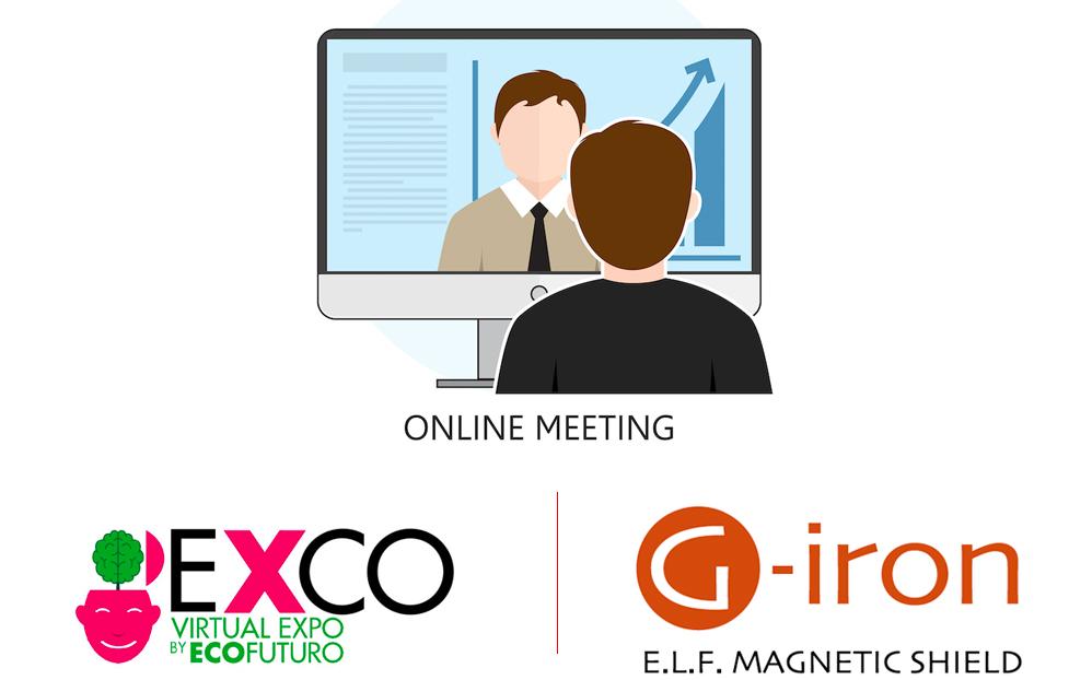 Stand virtuale G-iron® alla EXCO Virtual Expo